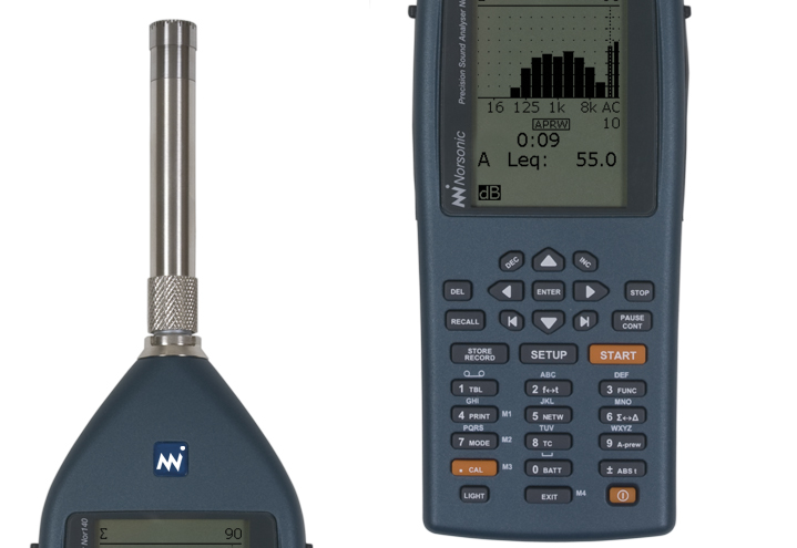 Nor140 Ljudanalysator frekvensanalys