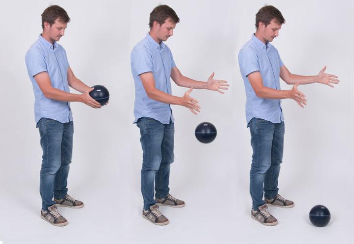 Nor279 är en impactboll (japanboll) framtagen för stegljudsmätning i låga frekvenser.