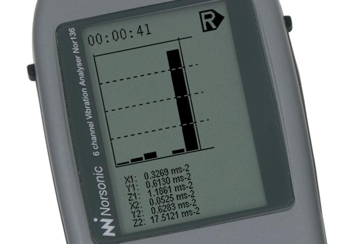 Nor136 Vibrationsmätare