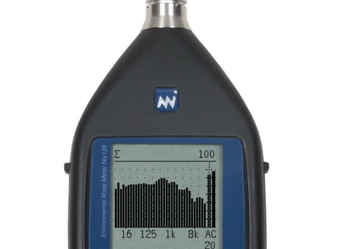 Nor139 Ljudnivåmätare