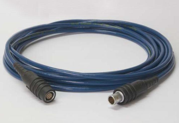 Nor1408A Förlängningskabel till förförstärkare med LEMO-kontakter.