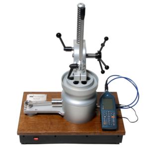 Nor1517A Systemet mäter luftflödets motstånd i porösa material