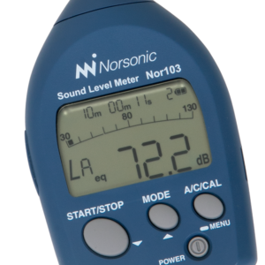 Nor103 Ljudnivåmätare med enkel användargränssnitt