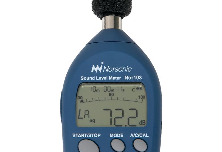 Nor103 Ljudnivåmätare