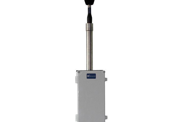 Nor1531 med mikrofon på mast