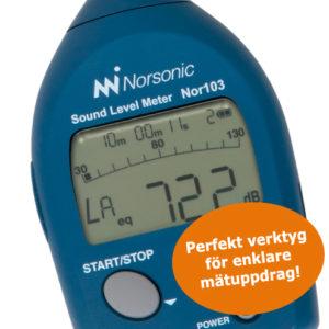 Ljudnivåmätare Nor103